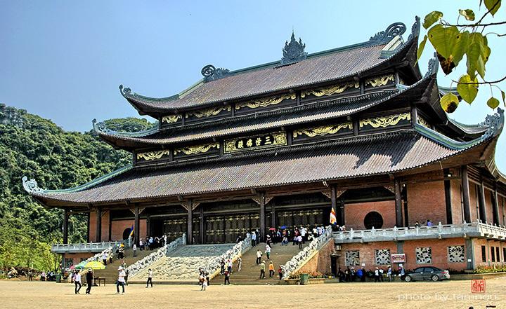 Ngôi chùa Bái Đính