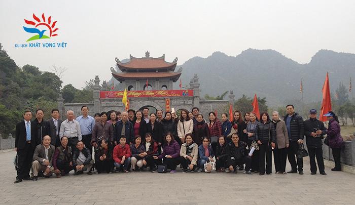 Đoàn khách hưu trí bộ công an Quận Đống Đa, Hà Nội