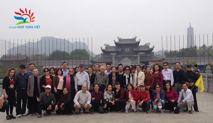Đoàn khách hưu trí bộ công an Quận Đống Đa, Hà Nội 7