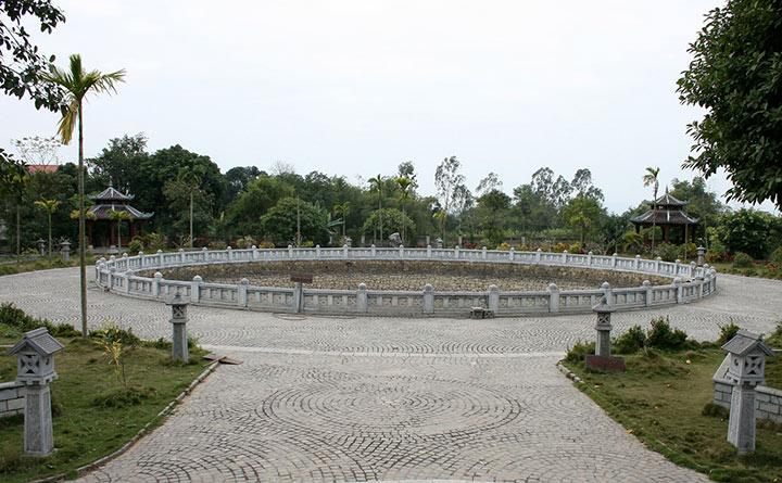 Giếng ngọc tại chùa Bái Đính