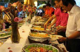 Tiệc Buffet tại nhà hàng Hoàng Sơn