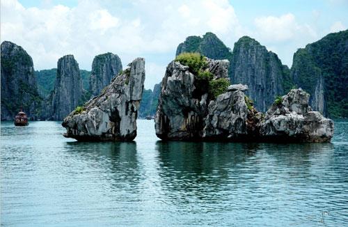 Du lịch biển hè 2014 - vịnh Hạ Long