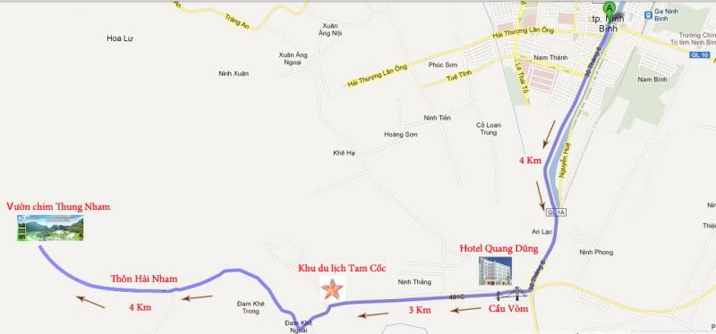 Bản đồ Thung Nham