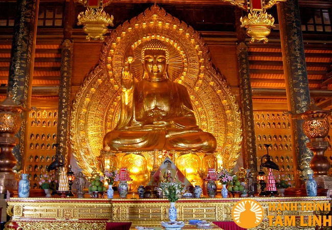 Tượng Phật Thích Ca Chùa Bái Đính